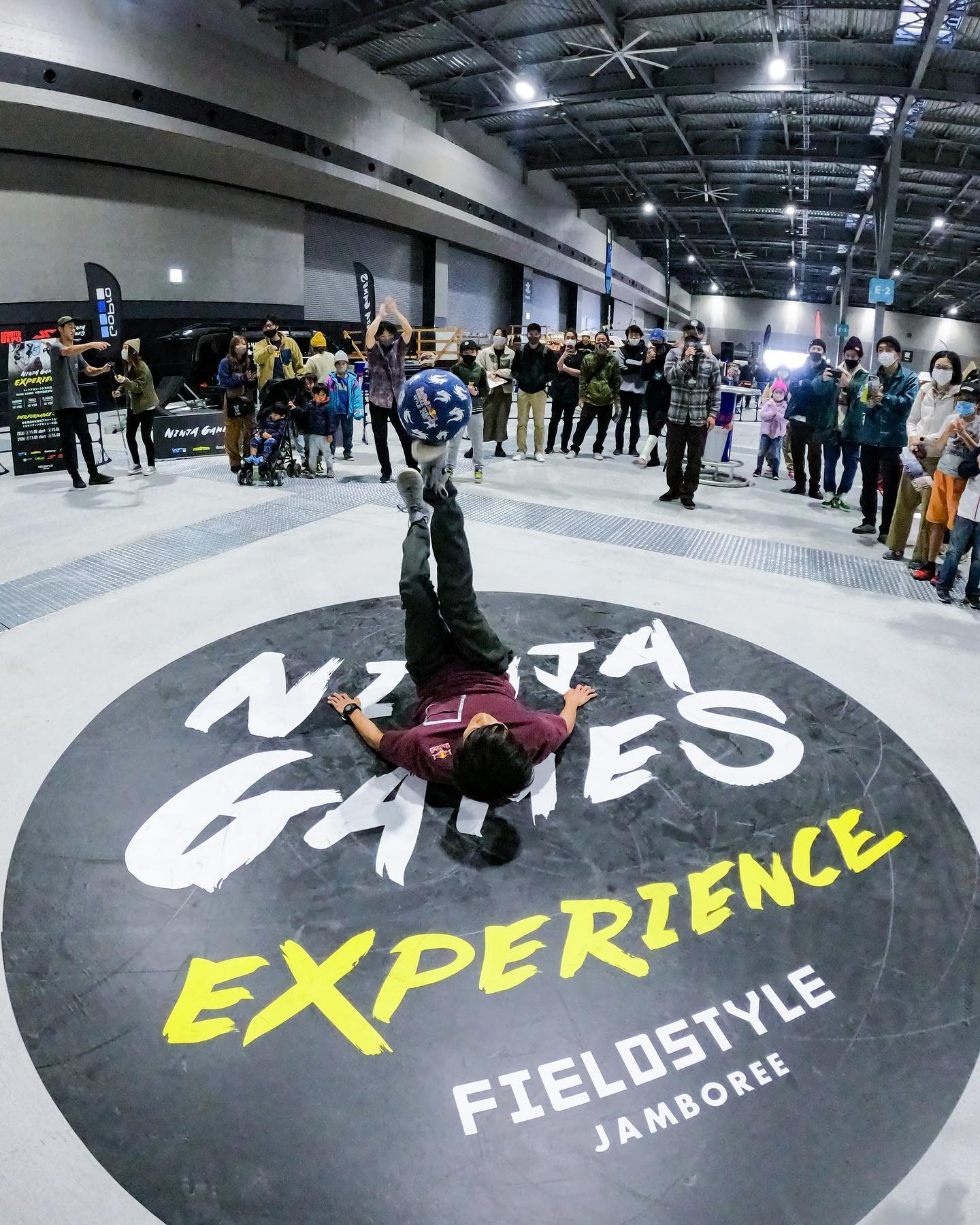NINJA GAMES EXPRIENCE【体験会とパフォーマンスのエクスペリエンス!!】
