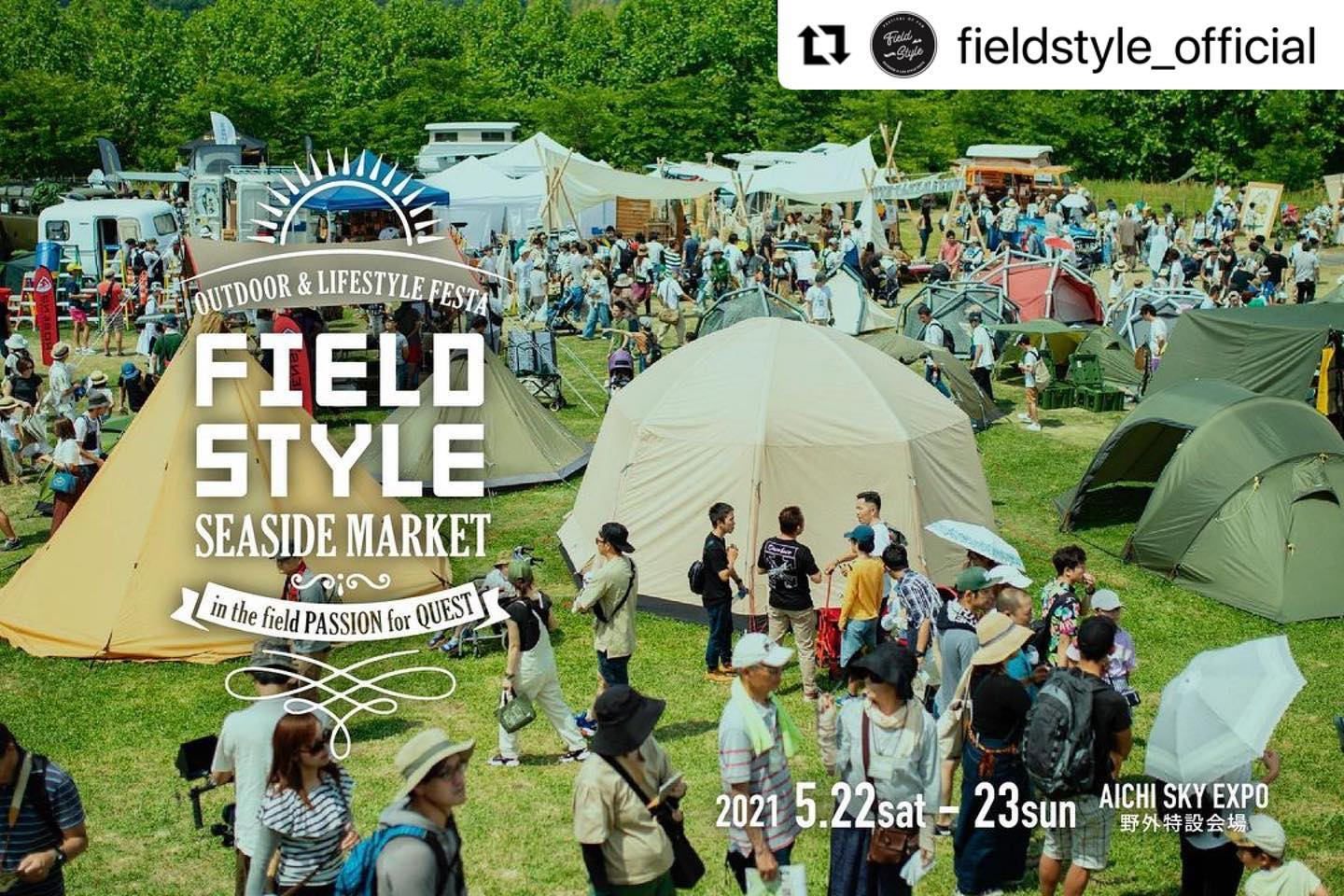#Repost @fieldstyle_official ・・・